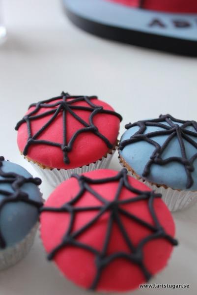 Spindelmannencupcakes