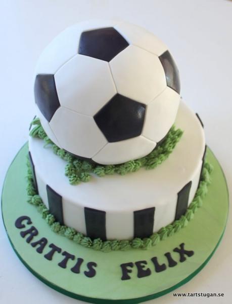 Fotbollstårta