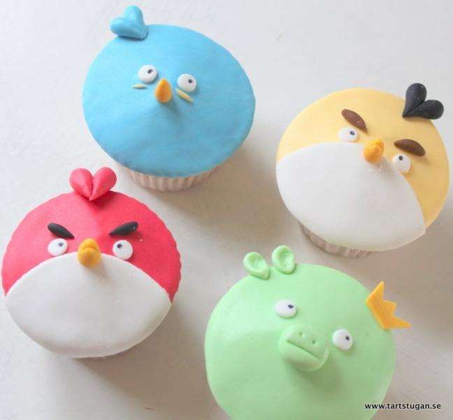 Angry Birdscupcakes