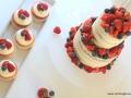 Naked cake, bröllopstårta