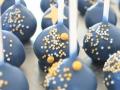 Cake pops blå