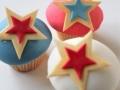 Cupcakes stjärna