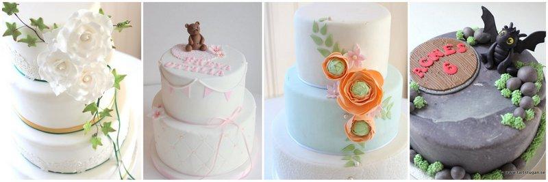 Barnkalas tårtor